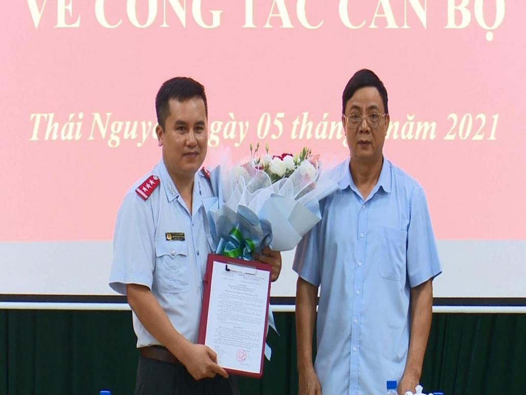 Công bố Quyết định bổ nhiệm chức vụ Phó Chánh Thanh tra tỉnh Thái Nguyên