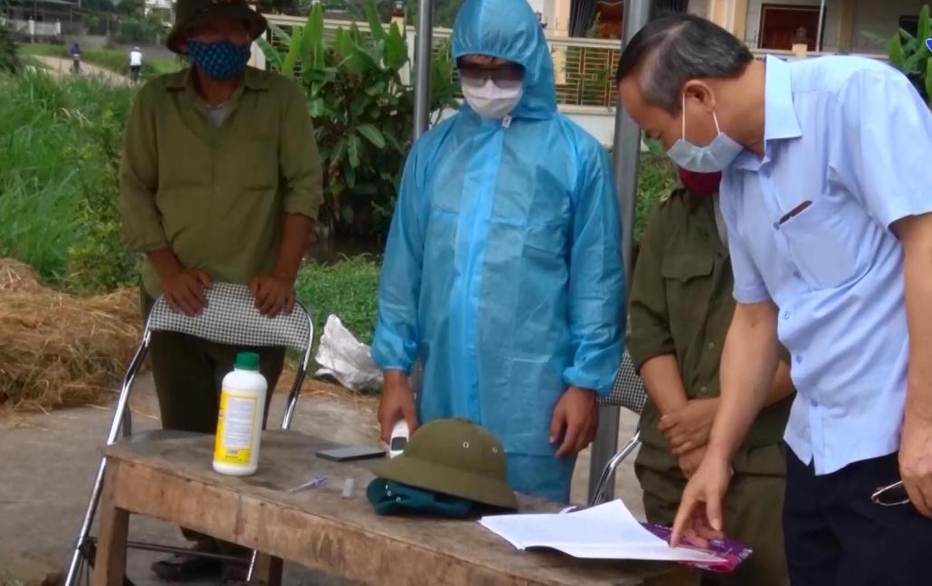 Phú Bình: Nhiều giải pháp chống dịch COVID-19