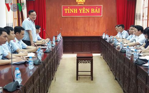 ubnd yen bai chu dong de nghi thanh tra tai san cua giam doc so tn mt