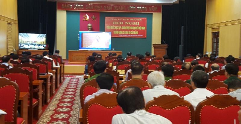 Hội nghị trực tuyến toàn quốc học tập, quán triệt Nghị quyết Trung ương 5 (khóa XII)