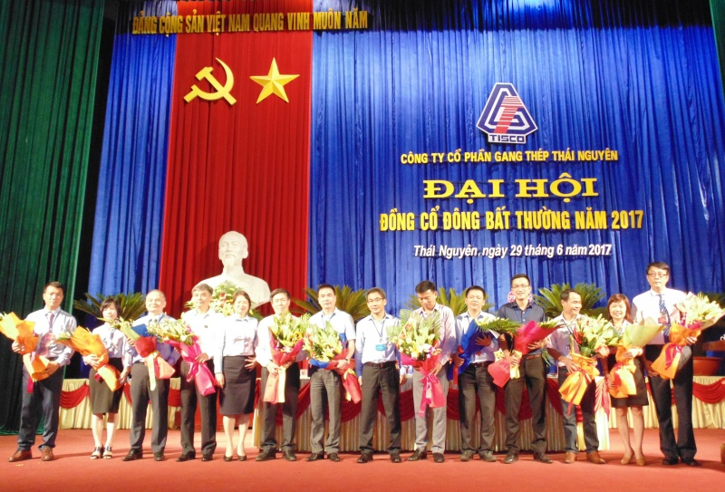 Công ty Cổ phần Gang thép Thái Nguyên bổ sung nhân sự và tăng vốn điều lệ