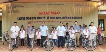 Khai mạc Chương trình Đưa hàng Việt về nông thôn, miền núi năm 2018