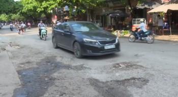 Cần khắc phục tình trạng xuống cấp đường Bến Oánh, TP Thái Nguyên