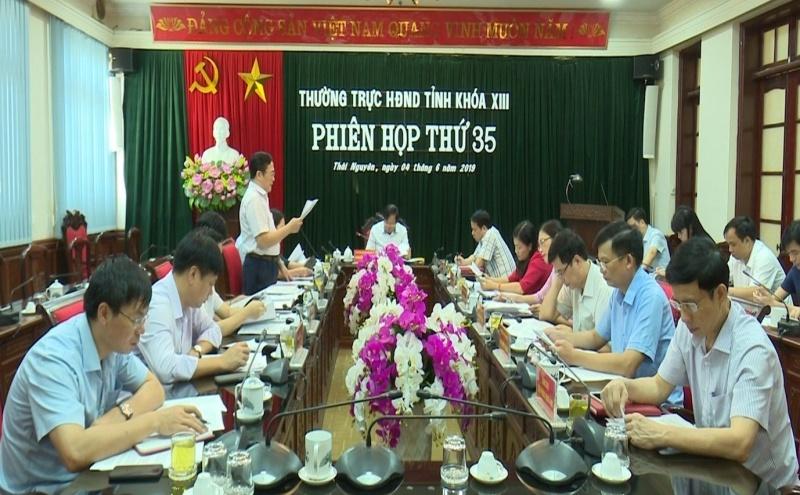 phien hop thu 35 thuong truc hdnd tinh thai nguyen khoa xiii