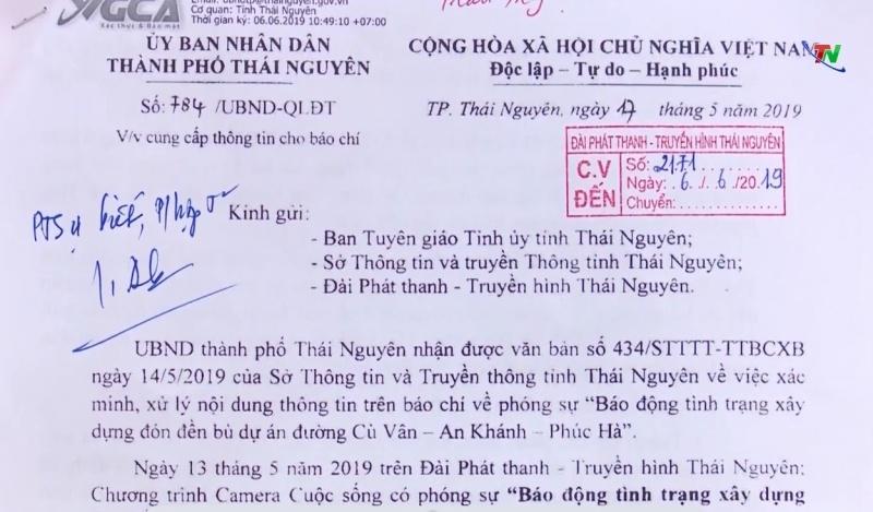 thong tin bao dong tinh trang xay dung don den bu du an duong cu van an khanh phuc ha la co co so