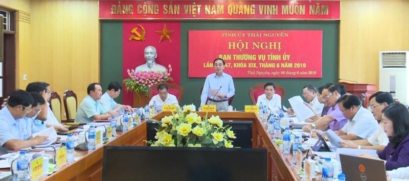 hoi nghi ban thuong vu tinh uy thang 6 nam 2019