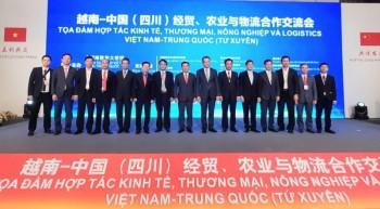 Lãnh đạo tỉnh dự Tọa đàm Xúc tiến kinh tế, thương mại, đầu tư và logistis Việt Nam - Trung Quốc
