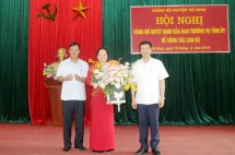 vo nhai cong bo quyet dinh ve cong tac can bo