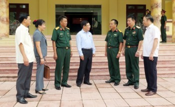 Phó Thủ tướng Chính phủ Phạm Bình Minh tiếp xúc cử tri tại tỉnh Thái Nguyên