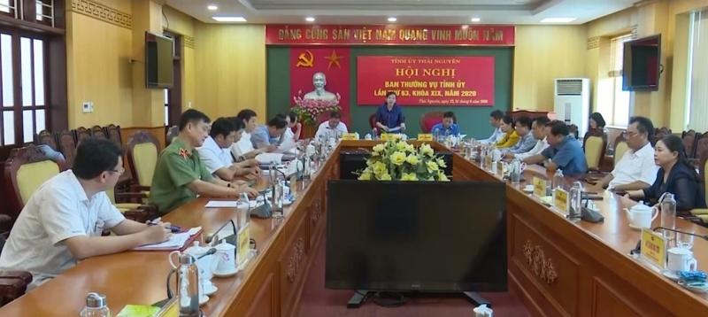 Ngày làm việc thứ 2 - Hội nghị Ban Thường vụ Tỉnh ủy Thái Nguyên lần thứ 63, khóa XIX