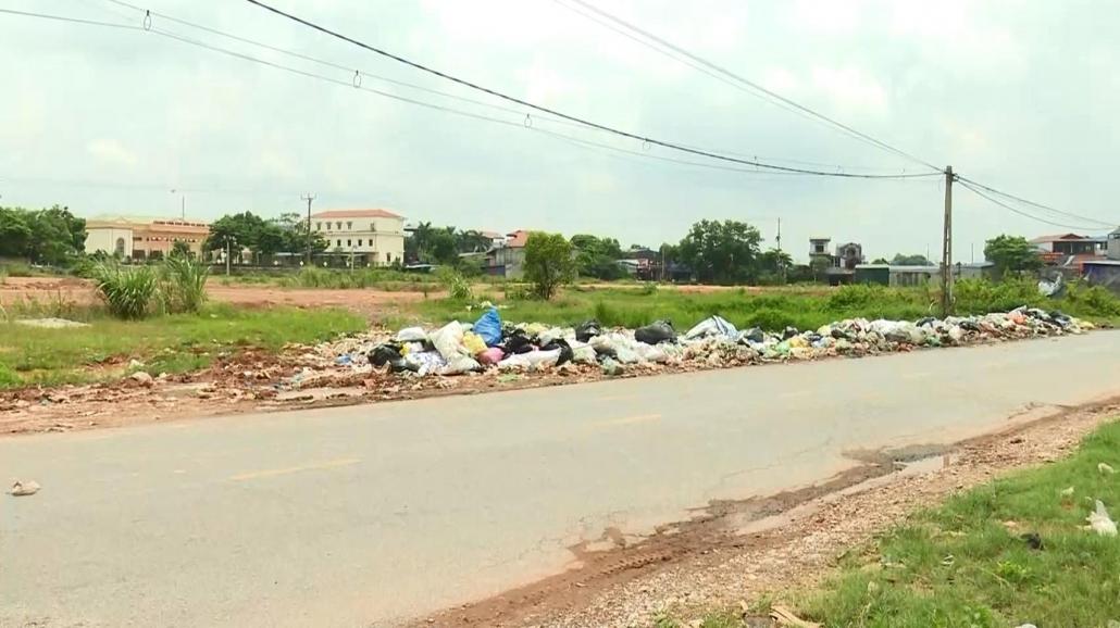 Cần chấm dứt tình trạng ô nhiễm môi trường từ các điểm tập kết rác