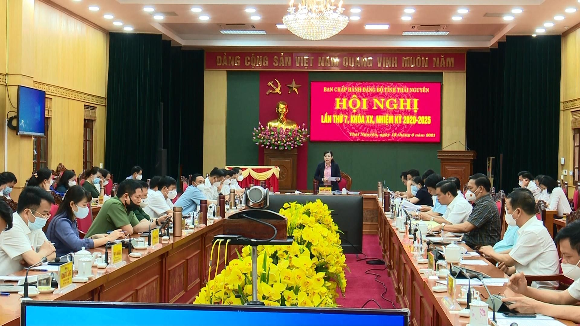 Hội nghị Ban Chấp hành Đảng bộ tỉnh lần thứ 7, khóa XX, nhiệm kỳ 2020-2025