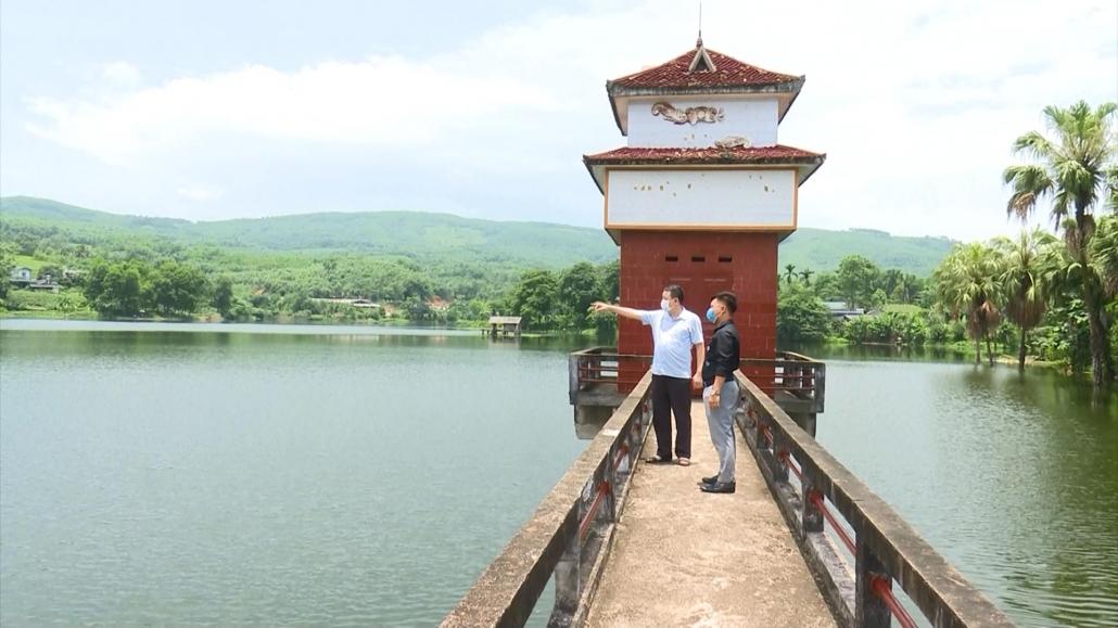 Tăng cường các biện pháp đảm bảo an toàn hồ, đập mùa mưa bão