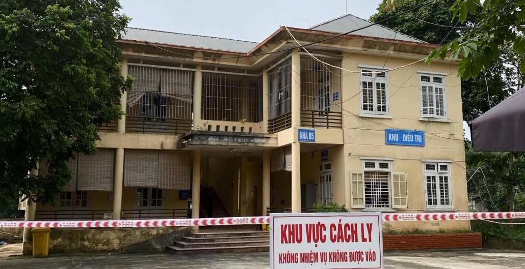 Phong tỏa khu cách ly Bệnh viện Đa khoa huyện Định Hóa