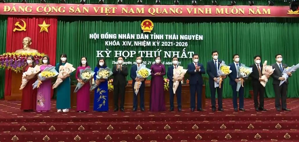 Bầu các chức danh chủ chốt trong bộ máy chính quyền tỉnh Thái Nguyên, nhiệm kỳ 2021-2026