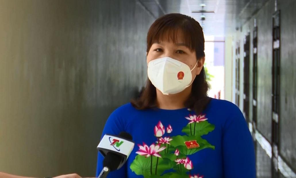 Ý kiến của một số đại biểu HĐND tỉnh Thái Nguyên nhiệm kỳ mới - đã psts 21.6