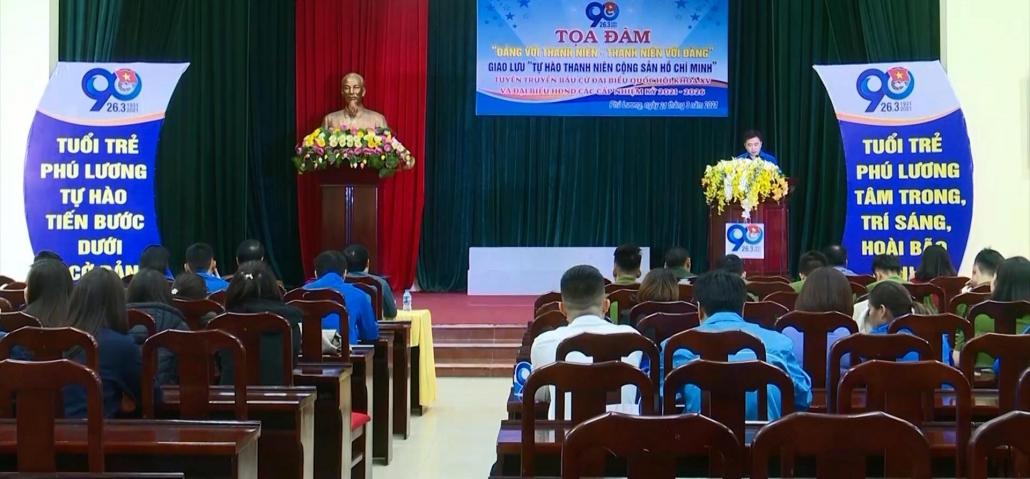 Phú Lương: Phát huy vai trò của tuổi trẻ
