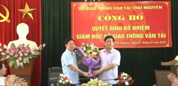 cong bo quyet dinh bo nhiem giam doc so giao thong van tai thai nguyen