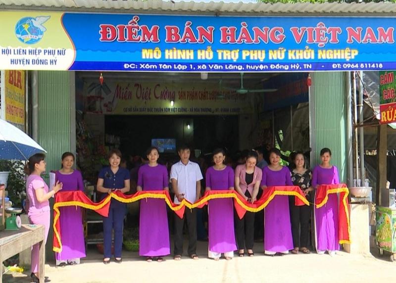 Hội Liên hiệp Phụ nữ huyện Đồng Hỷ ra mắt