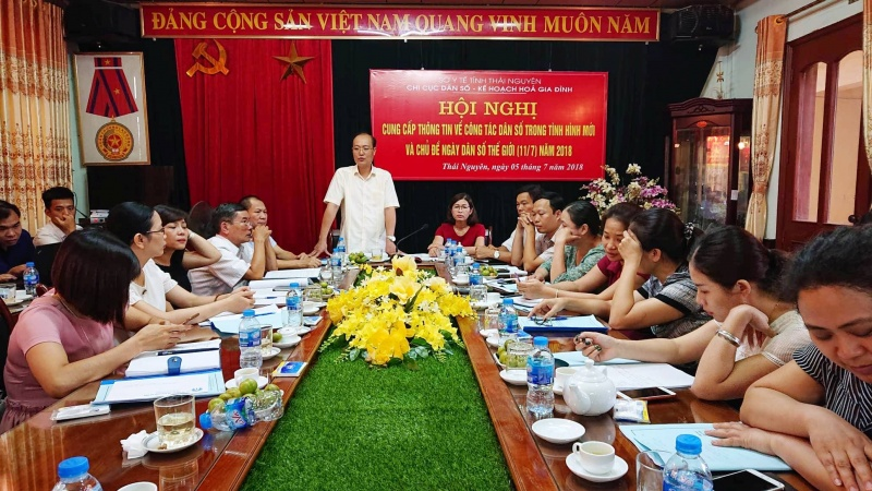 chi cuc dan so thai nguyen cung ca p thong tin ve cong ta c dan so