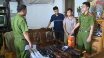cong an thai nguyen khoi to doi tuong co hanh vi mua ban tang tru trai phep vu khi quan dung