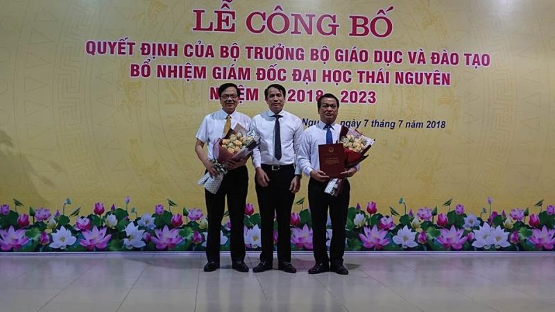 cong bo quyet dinh bo nhiem giam doc dai hoc thai nguyen