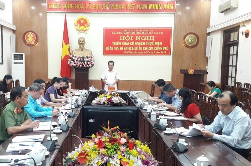 trien khai ke hoach thuc hien cac de an cua chinh phu