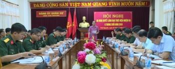 dang uy quan su tinh thai nguyen trien khai nhiem vu 6 thang cuoi nam 2019