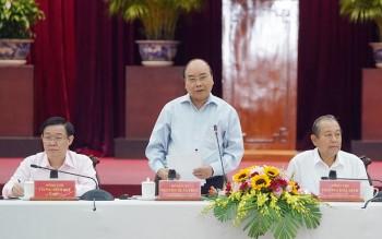 Thủ tướng làm việc với các địa phương ĐBSCL, chuẩn bị cho ĐH XIII