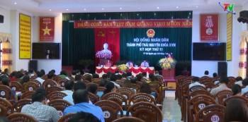 Khai mạc Kỳ họp thứ 11, HĐND thành phố Thái Nguyên khóa XVIII, nhiệm kỳ 2016 - 2021