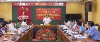 hoi nghi giao ban ban chi dao 94 tinh thai nguyen