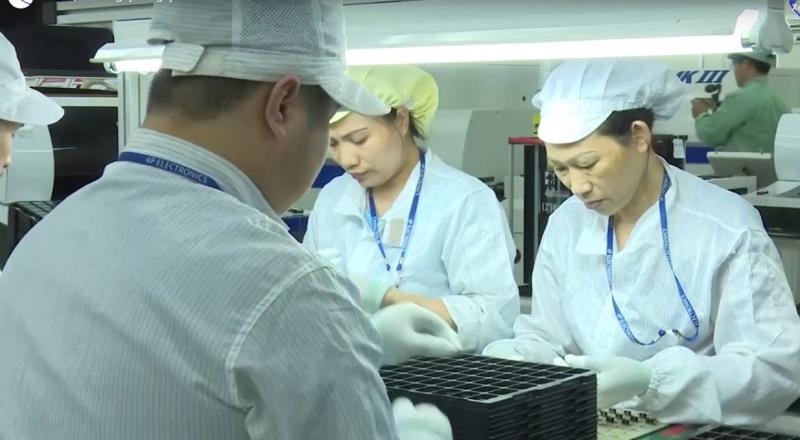 samsung thai nguyen gia tri san xuat 6 thang dau nam 2020 dat tren 265000 ty dong