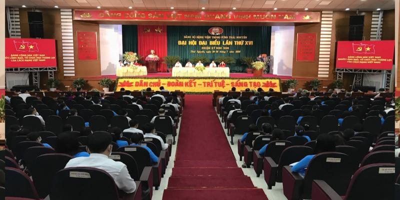 dai hoi dai bieu dang bo benh vien trung uong thai nguyen lan thu xvi nhiem ky 2020 2025