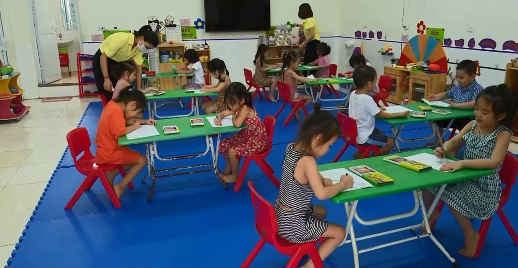 Đảm bảo an toàn cho trẻ đến trường trong mùa dịch - đã ps cam 4.7