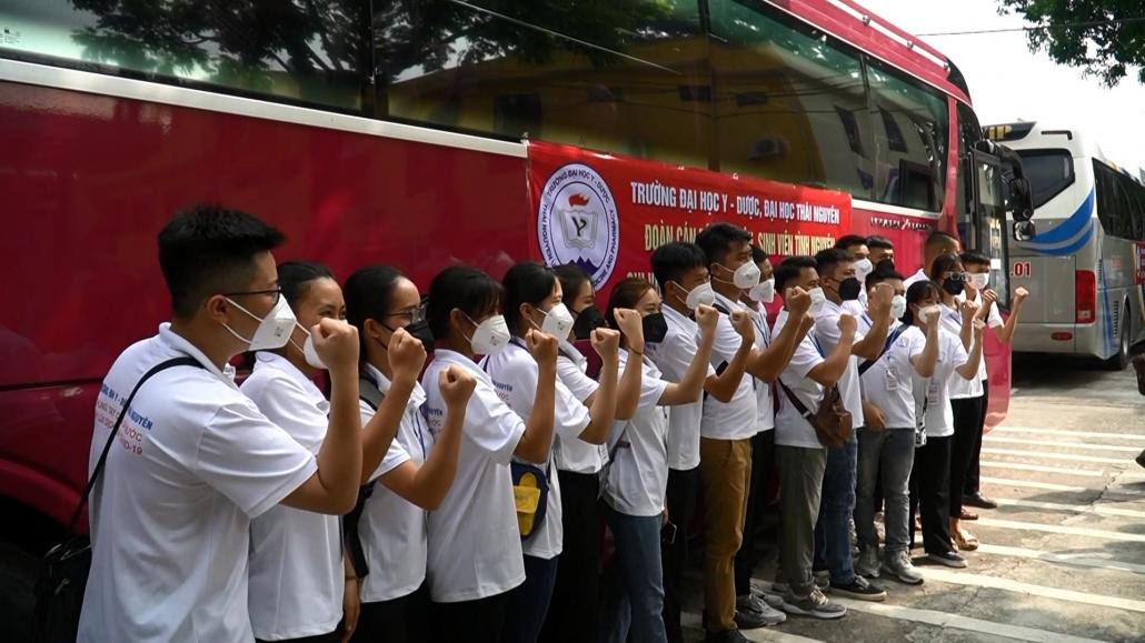 Thái Nguyên tiếp tục hỗ trợ y tế cho TP Hồ Chí Minh