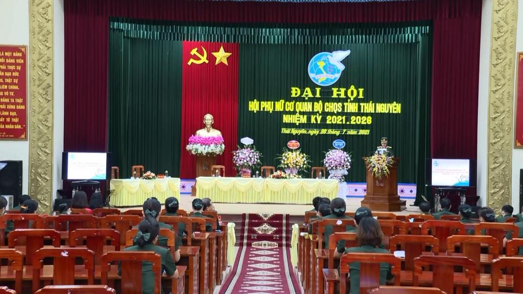Hội Phụ nữ cơ quan Bộ Chỉ huy Quân sự tỉnh tổ chức Đại hội nhiệm kỳ 2021-2026
