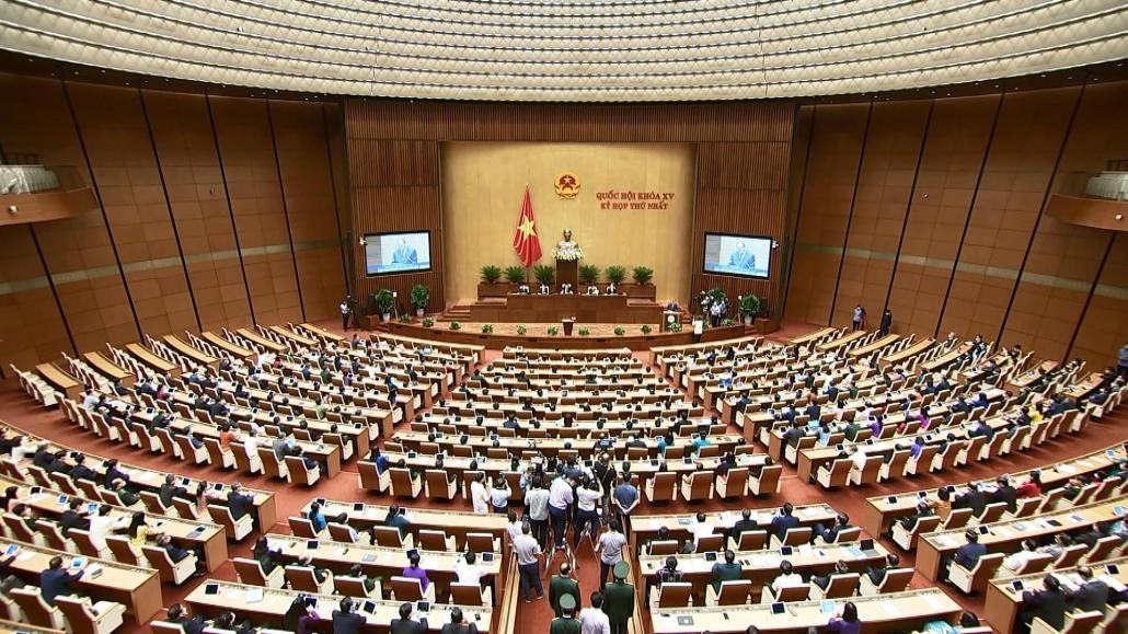 Đoàn đại biểu Quốc hội tỉnh Thái Nguyên đóng góp vào thành công Kỳ họp thứ nhất, Quốc hội khóa XV