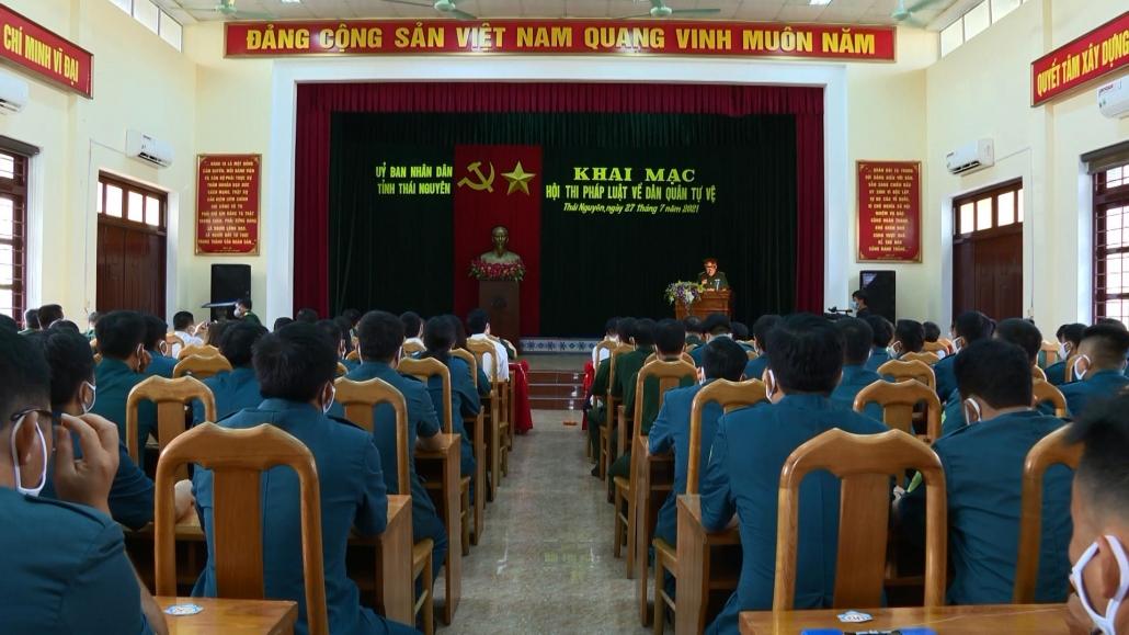 Nâng cao nhận thức pháp luật về dân quân tự vệ - đã psts 29.7