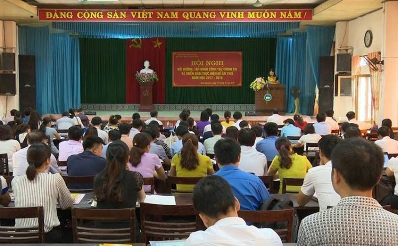 so giao duc va dao tao thai nguyen tap huan cong tac chinh tri nam hoc 2017 2018