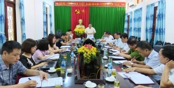 Đồng Hỷ: Họp Ban Chỉ đạo thực hiện Dự án xây dựng Khu du lịch Sinh thái - Văn hóa Đá Thiên