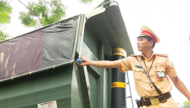 thai nguyen tang cuong kiem tra tai trong xe tren quoc lo 3 cu