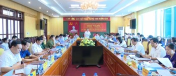 Hội nghị Ban Thường vụ Tỉnh ủy lần thứ 37, khóa XIX
