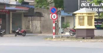 Cần sớm khắc phục các hạn chế trong việc lắp đặt biển báo giao thông