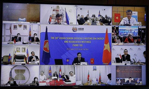 Khai mạc Hội nghị quan chức cấp cao năng lượng ASEAN lần thứ 38