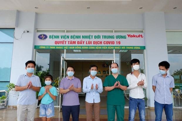 Thêm 6 trường hợp mắc COVID-19 được công bố khỏi bệnh