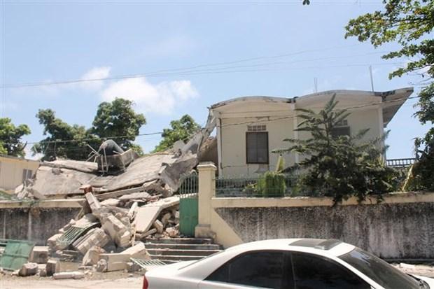 Động đất ở Haiti: Gần 1.300 người thiệt mạng, không có người Việt Nam
