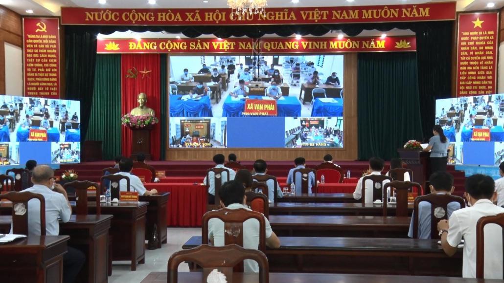 Tiếp xúc cử tri sau Kỳ họp thứ 2, HĐND tỉnh khóa XIV, nhiệm kỳ 2021-2026