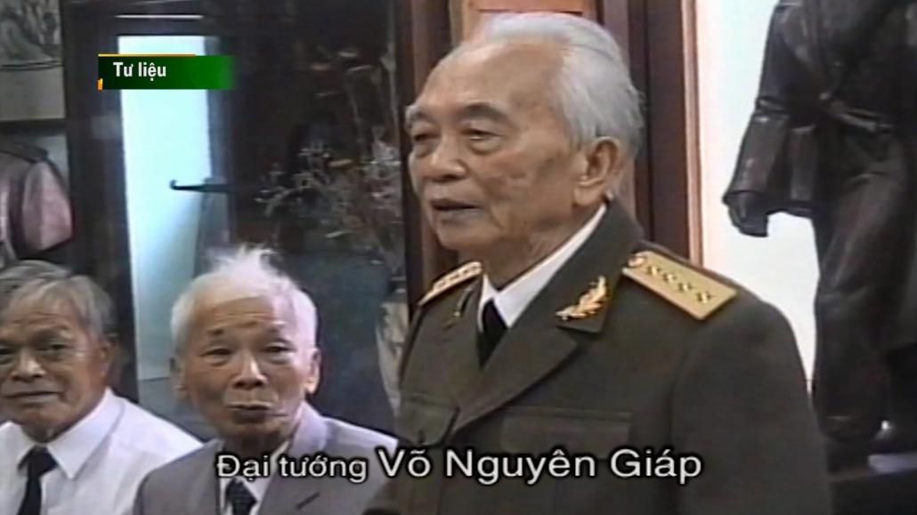 Đại tướng Võ Nguyên Giáp với Thái Nguyên