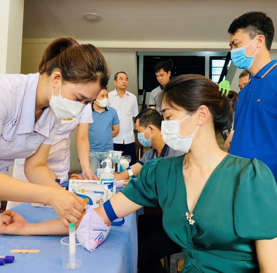 Văn phòng Tỉnh ủy Thái Nguyên: Khám sức khỏe định kỳ cho cán bộ, công chức, người lao động