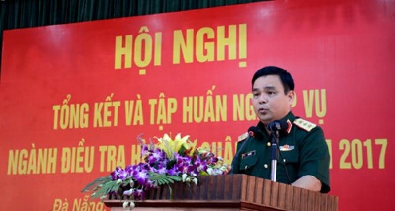 bo quoc phong tong ket cong tac dieu tra hinh su va tap huan nghiep vu nam 2017